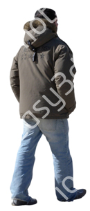 (Single) Cool Weather Casual V. 1 #017 man, walking