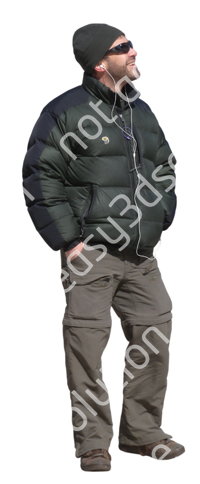 (Single) Cool Weather Casual V. 1 #030 man, standing