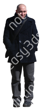 (Single) Cool Weather Casual V. 1 #051 man, standing